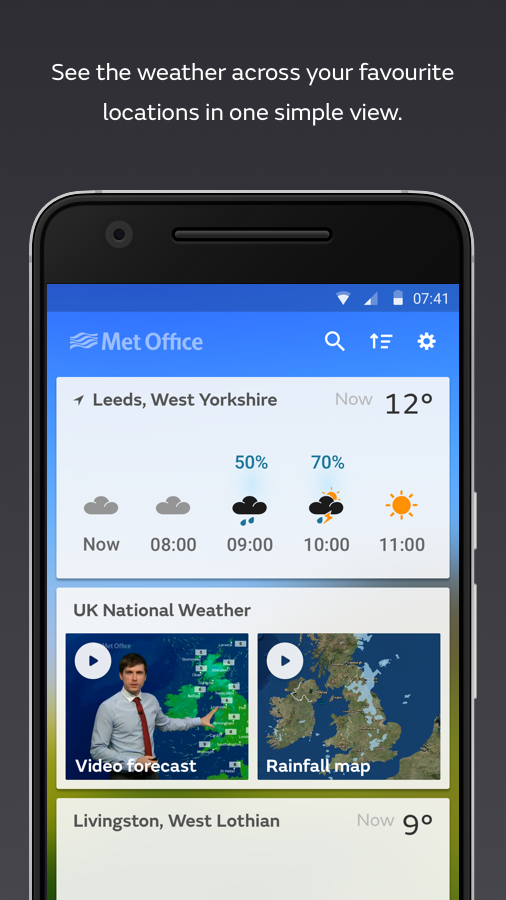 Met office weather android apps on google play - Www met office weather forecast ...
