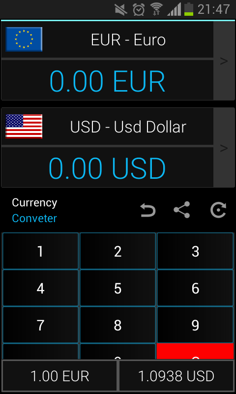 Open all market forex currency rates