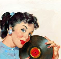 Pin up vinyl playlist rebel girl