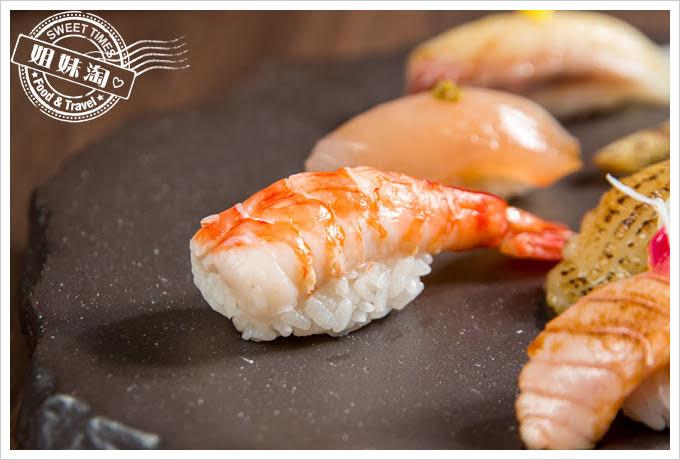 墨吉日本料理綜合握壽司明蝦握壽司