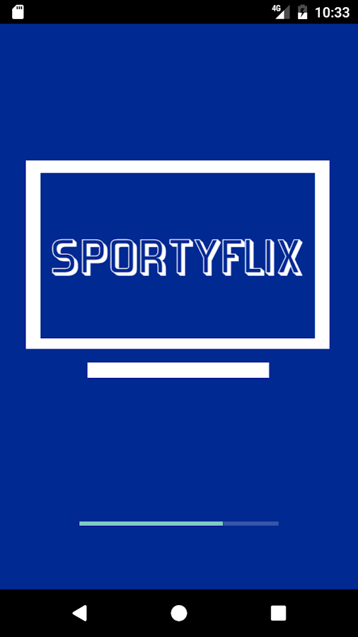 Sportyflix- screenshot