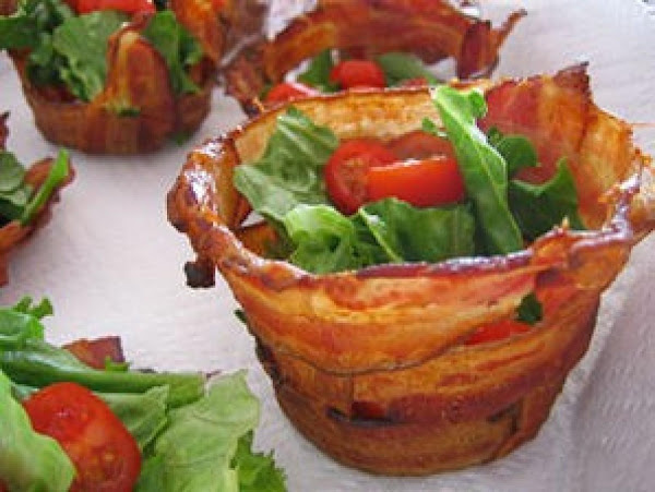 Cute Bacon Cups Recipe