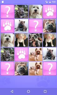 Cute Dogs Memory Matching Game 1.2 APK + MOD (Unlocked) 1