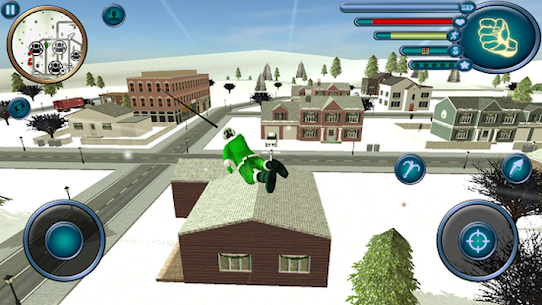 Santa Claus Rope Hero Vice Town Fight Simulator 1.6 Android Mod + APK + Data 3
