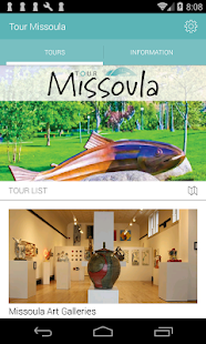 Tour Missoula- screenshot thumbnail