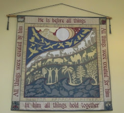 Photo: Tapestry inside Mills Hall
