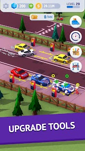 Idle Pit Stop: Tycoon Racing Manager MOD (Diamonds/No Ads) 4