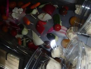 Photo: Arbres à légumes crus et cuits sauce aïoli et pissalat