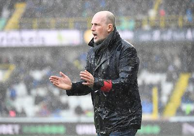 De lat ligt opnieuw een stuk hoger bij Club Brugge, maar Clement weet waar hij naartoe wil met zijn kern