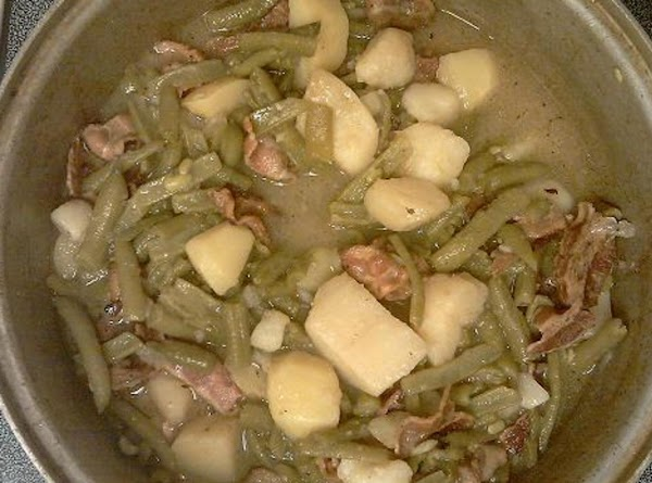 Chick's String Beans & Potato's Recipe