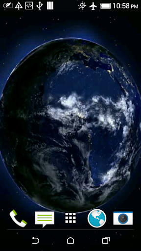 Beautiful Earth 3D Wallpaper