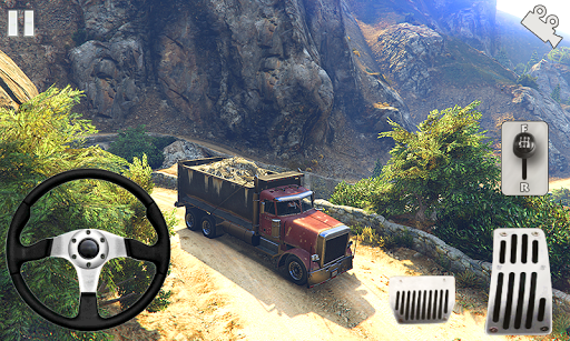 Off-road Army Truck  captures d'u00e9cran 1