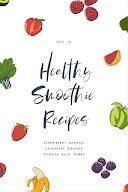 Fruity & Healthy Smoothies - Pinterest Pin item