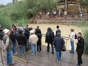 Photo: The banks of the Jordan at the Biblical  Gilgal...מעברות הירדן בגלגל המקראית