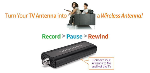 ClearStream TV WiFi Tuner Adapter for TV Antennas - Apps on