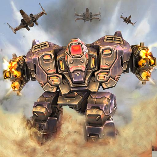 Download FUTURISTIC WAR ROBOTS