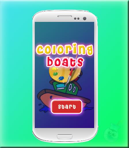 Colorir Barcos