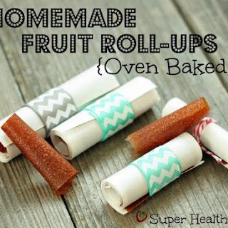 Homemade Fruit Roll-Ups.