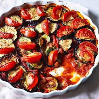 Posh Roasted Vegetables.