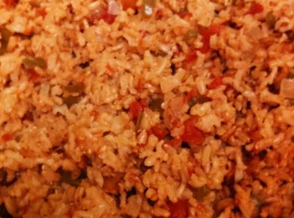 Mexican Rice Ww Recipe