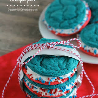 Red White and Blue Whoopie Pies.