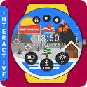 Christmas Watch Face Reborn (by HuskyDev) icon