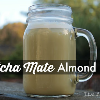 Matcha Mate Almond Latte