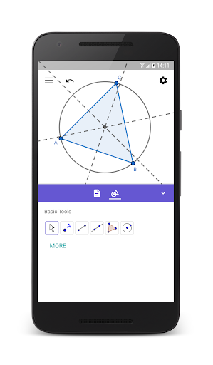 GeoGebra Geometry 5.0.526.0 gameplay | AndroidFC 1
