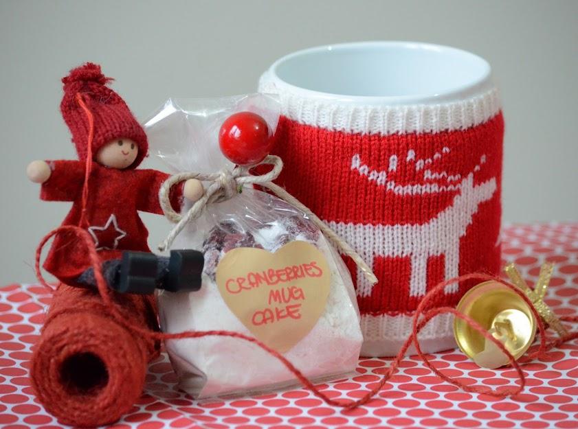 Cranberries Mug cake natale