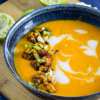 Thai Roasted Butternut Squash Soup