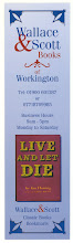 Photo: Wallace & Scott - Ian Fleming bookmark series Live and Let Die