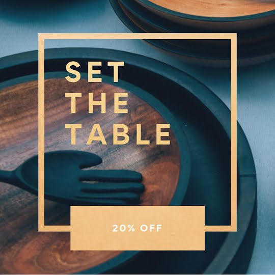 Set the Table - Instagram Post Template