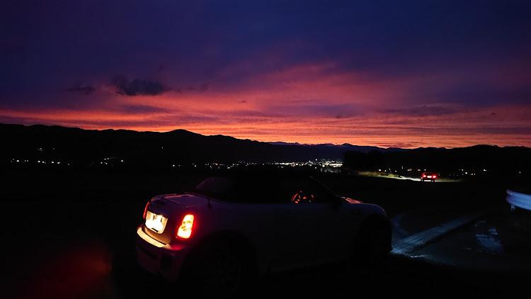 MINI ロードスター のドライブ,富士見町,茅野市,夕焼けコラボに関するカスタム&メンテナンスの投稿画像6枚目