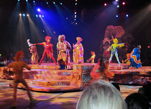Photo: Festival of the Lion King at Disney Animal Kingdom