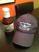 Photo: Bob emailed me this one prior to the meeting.  When he was a line boy in Charlotte J.P.'s would deliver to the FBO.  The restaurant is closed but you can still get the sauce.  He brought this bottle that went on the ribs about 5 or 10 minutes before they came off the grill.
