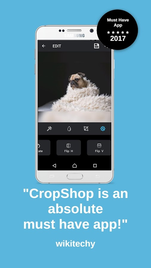 CropShop - Don't Crop - For WhatsApp and Instagram- screenshot