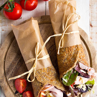 Flaxseed Keto Wraps.