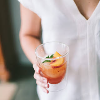 Tennessee Whiskey Peach Smash.