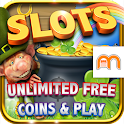Crock O'Gold Riches Slots FREE icon