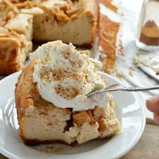 Peanut Butter Apple Cheesecake