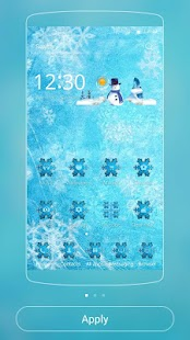 Theme Ice Frozen Snow- screenshot thumbnail