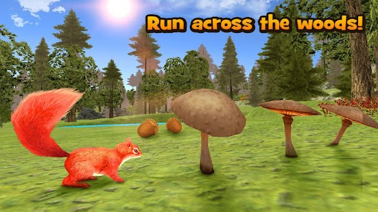 Forest Squirrel Simulator 3D - náhled