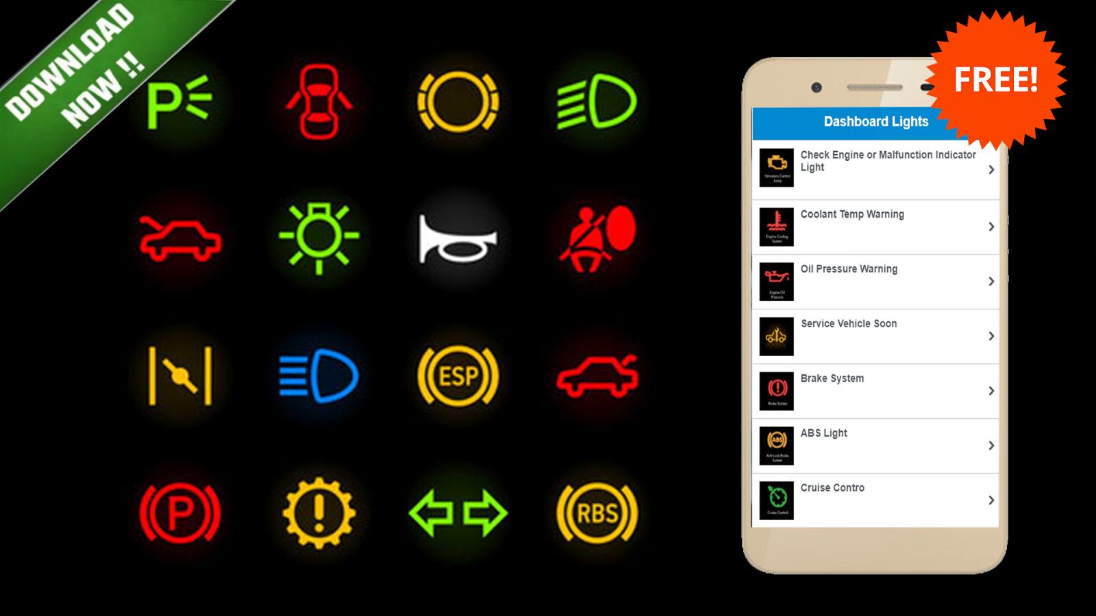 Car dashboard alerts auto warning lights android apps on car dashboard alerts auto warning lights screenshot buycottarizona Image collections
