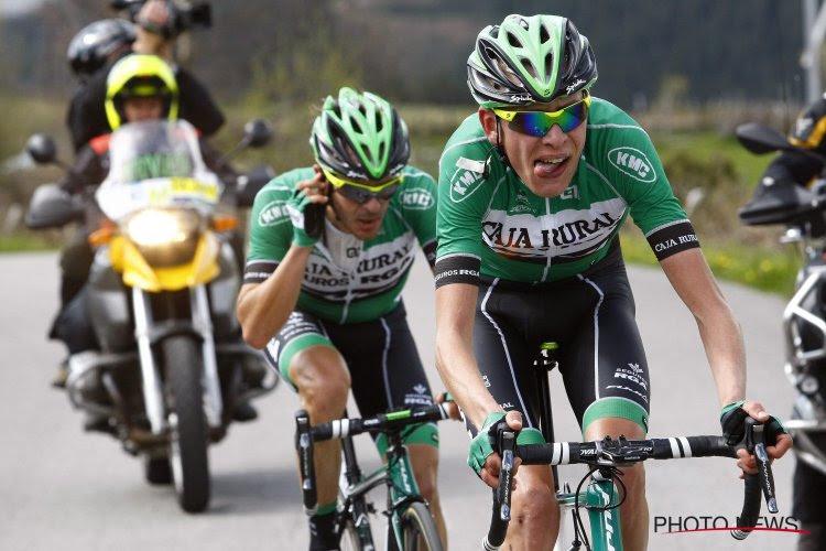 ProContinentaal Caja Rural wil opvallen in de Vuelta en past shirt aan