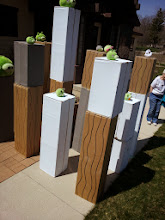 Photo: Live action Angry Birds! So creative!