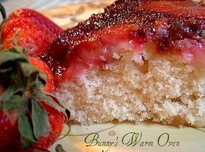 Strawberry Upside Down Cake Recipe
