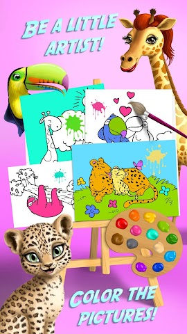 android Jungle Animal Hair Salon FULL Screenshot 5