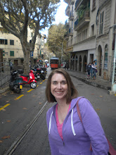 Photo: Soller, waiting for the tram to go to the port