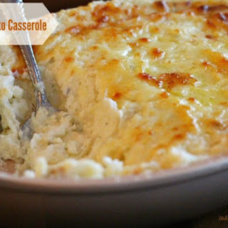 Cheesy Mashed Potato Casserole Recipe