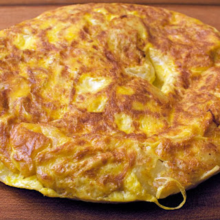 Spanish Potato Omelet.